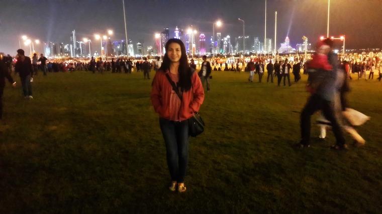 Corniche. Doha, Qatar. Dec. 18, 2014.